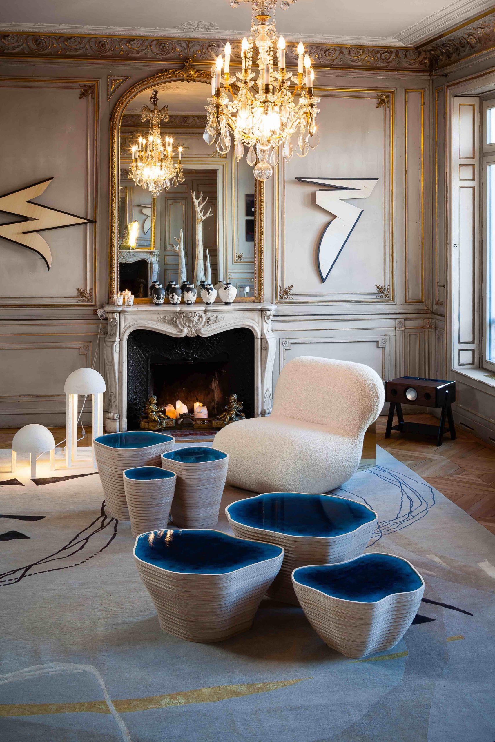 Tables design Julien Lagueste