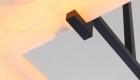 Embrun est une collection de luminaires haut de gamme minimaliste en onyx par Ozone